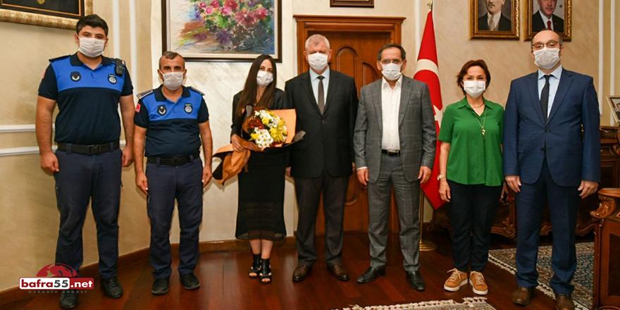 """Başkan Demir: """"Zabıta ekiplerimiz vatandaşlarımızın her zaman yanında"""""""
