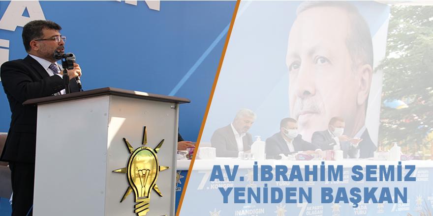 AK Parti Bafra'da Semiz yeniden başkan