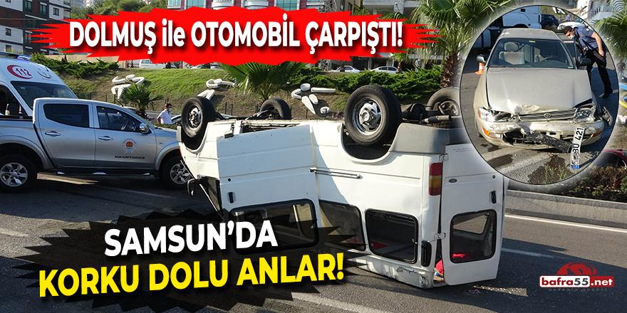 Samsun'da Trafik Kazasında Can Pazarı