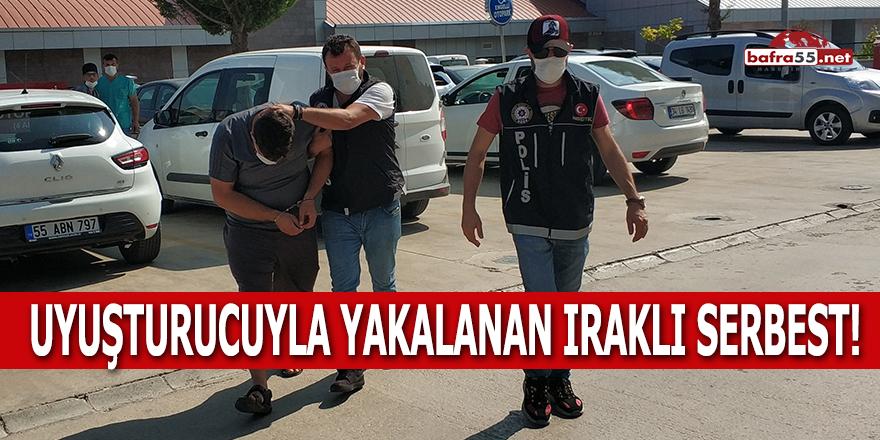 Uyuşturucuyla Yakalanan Iraklı Serbest!