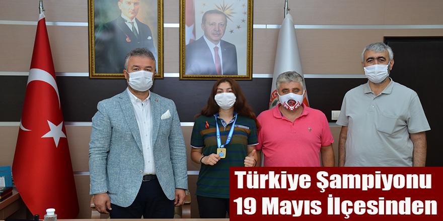 Türkiye Şampiyonu 19 Mayıs İlçesinden