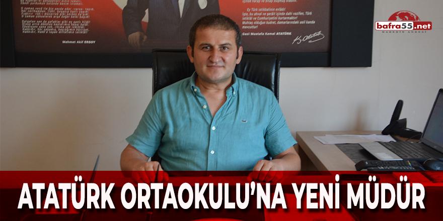 Atatürk Ortaokulu'na Yeni Müdür