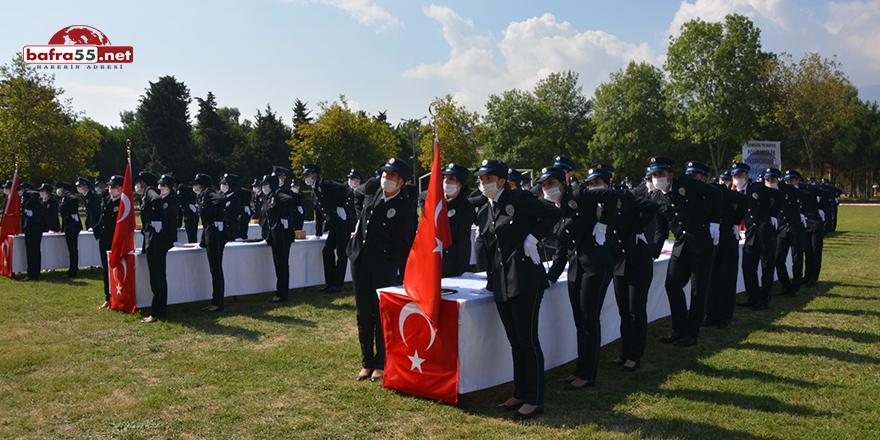 Polis Okulunda 426 Öğrencinin Mezuniyet Heyecanı