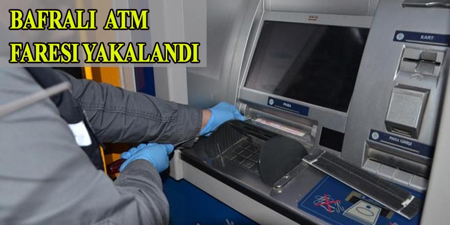 Bafralı ATM faresi yakalandı