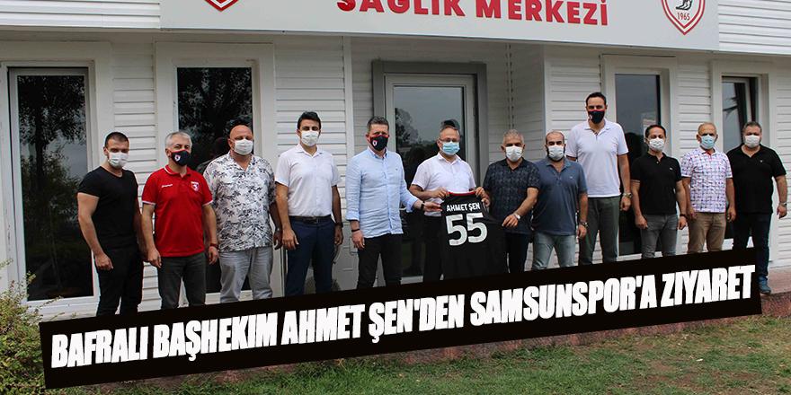 Bafralı Başhekim Ahmet Şen'den Samsunspor'a Ziyaret