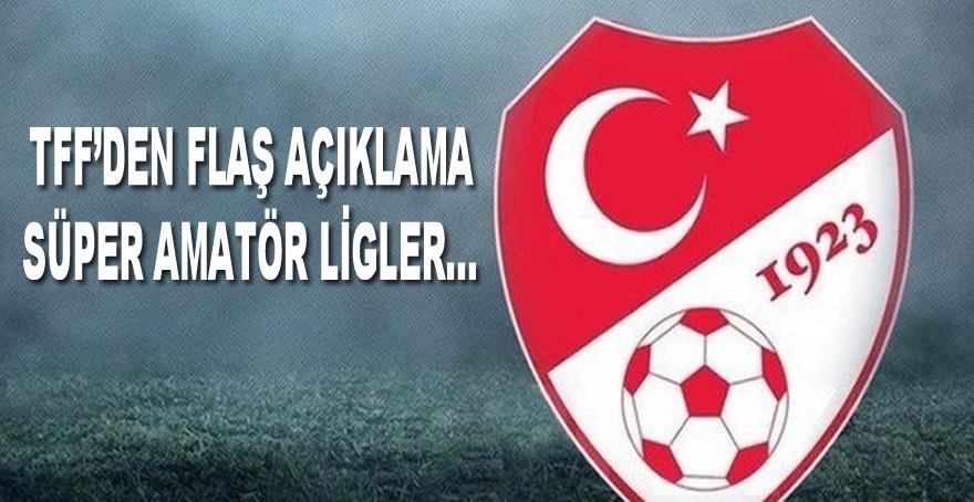 Türkiye Futbol Federasyonu'ndan Flaş Açıklama