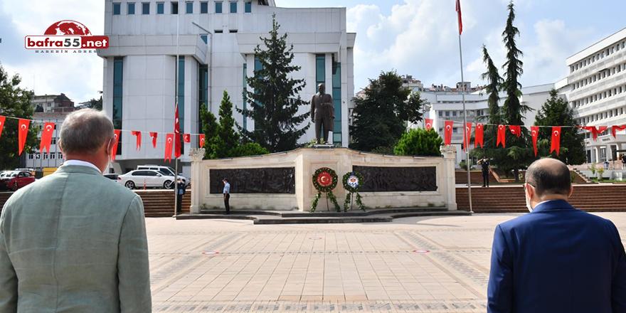 Atatürk'ün Trabzon'a gelişinin 96. yıldönümü etkinlikleri