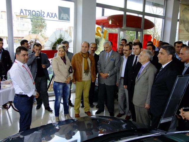 Citroën C-Elysée Bafra'da Görücüye Çıktı.