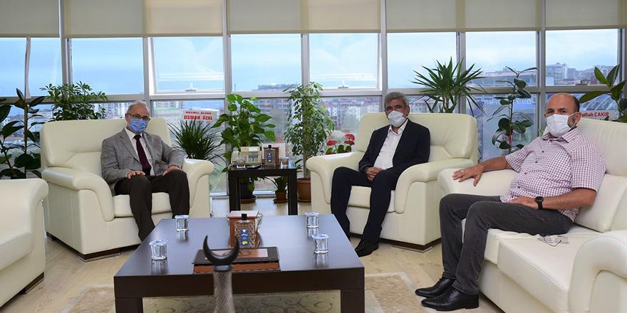 Vezirköprü Belediye Başkanı Sadık'dan Ziyaret
