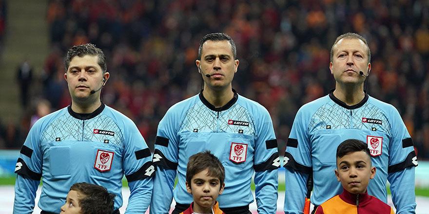Denizlispor -Trabzonspor karşılaşmasının hakemi belli oldu