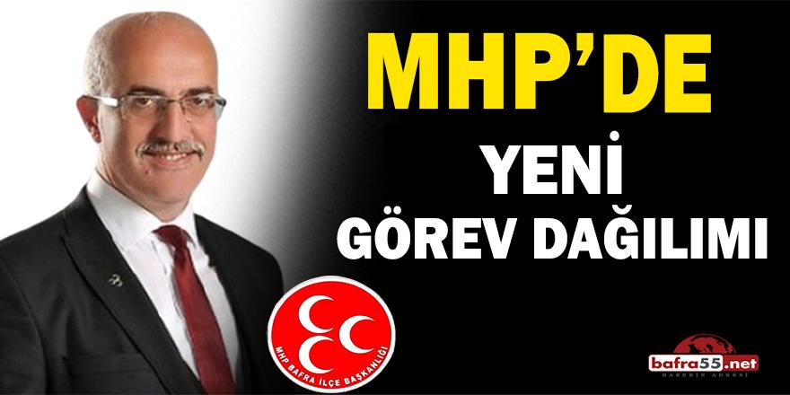 MHP Bafra İlçe Teşkilatı'nda yeni görev dağılımı