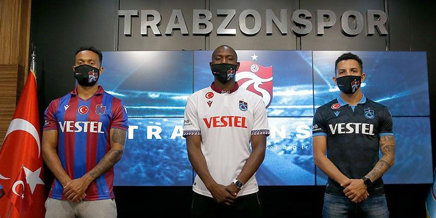 Trabzonspor'da 3 imza birden