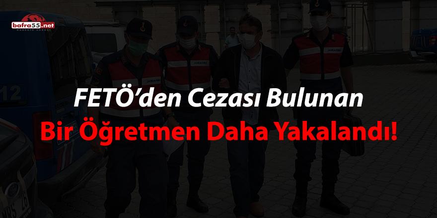 FETÖ'den cezası bulunan bir öğretmen daha yakalandı!