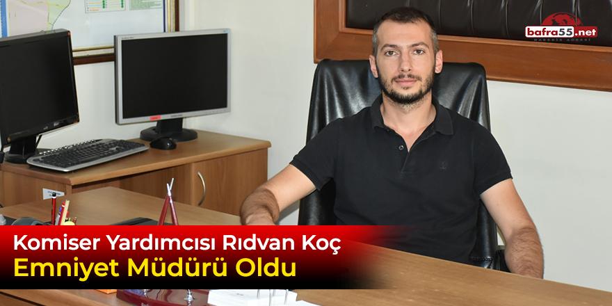 Rıdvan Komiser yardımcısı Emniyet Müdürü Oldu