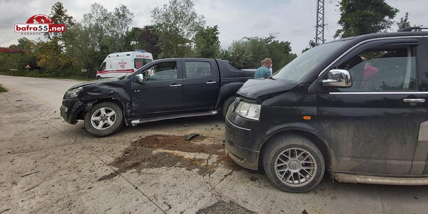Terme'de kaza! 2 yaralı