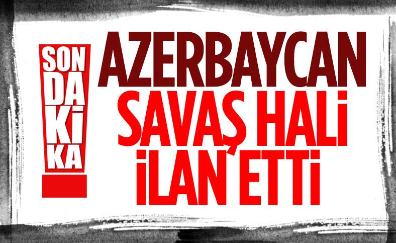 Son Dakika: Azerbaycan Cumhurbaşkanı İlham Aliyev ülkede kısmi seferberlik ilan etti