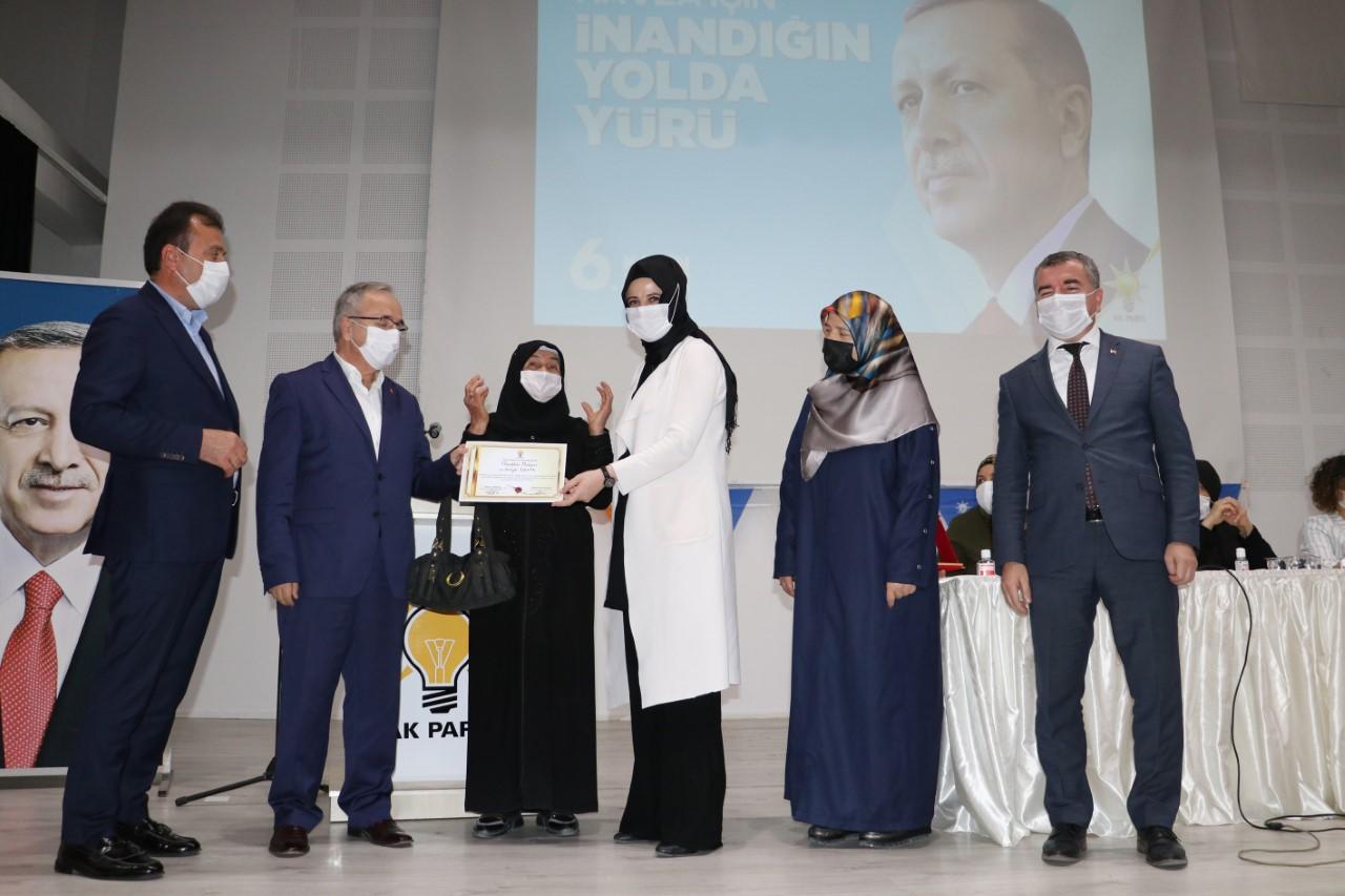 Ak Parti Havza Kadın Kolları Başkanlığında genel kurul heyecanı