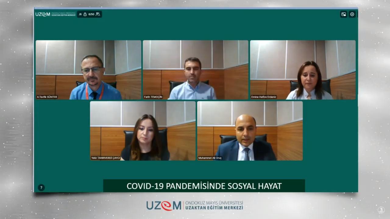 Covid-19 Pandemisinde Sosyal Hayat Uzmanlar Tarafından Anlatıldı