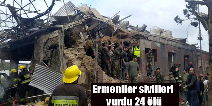 Ermeniler sivilleri vurdu 24 ölü