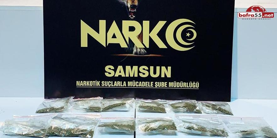 Samsun'da uyuşturucu iddiasına gözaltı