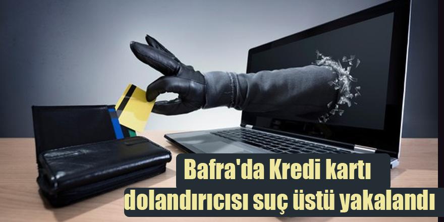 Bafra'da Kredi kartı dolandırıcısı suç üstü yakalandı