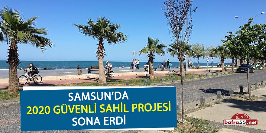 """Samsun'da """"2020 Güvenli Sahil Projesi"""" sona erdi"""