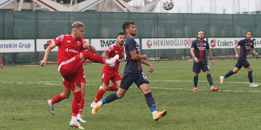 TFF 2. Lig: Hekimoğlu Trabzon FK: 1 - 24 Erzincanspor: 1