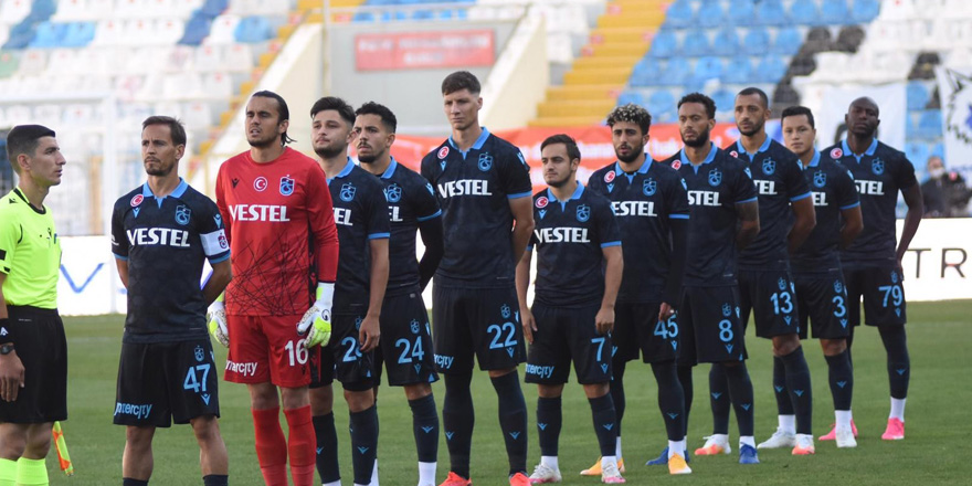 Trabzonspor tatsız tuzsuz