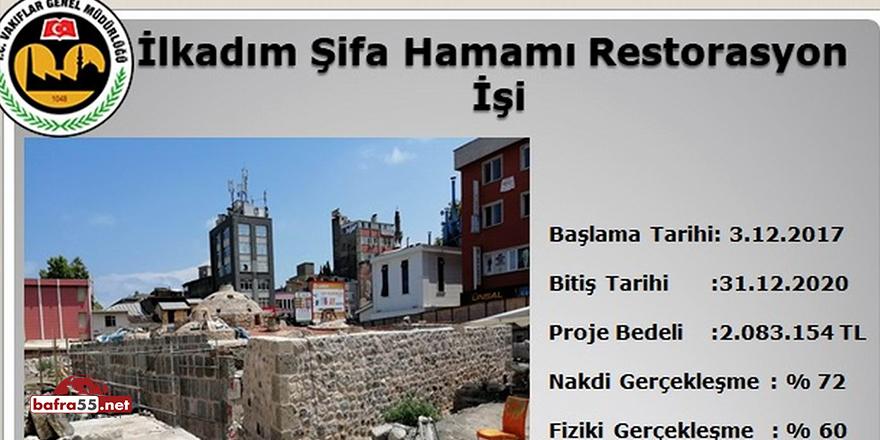 Vakıflar Bölge Müdürlüğü'nden 4,4 milyon TL'lik restorasyon