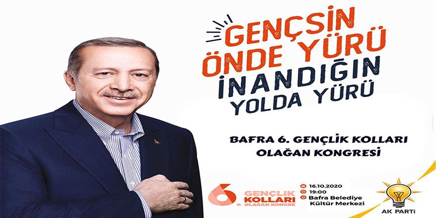 AK Parti 6'ıncı Gençlik Kolları Başkanlığı Olağan Kongresine Davet