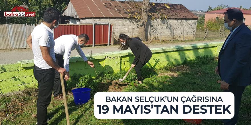 Bakan Selçuk'un çağrısına 19 Mayıs'tan destek