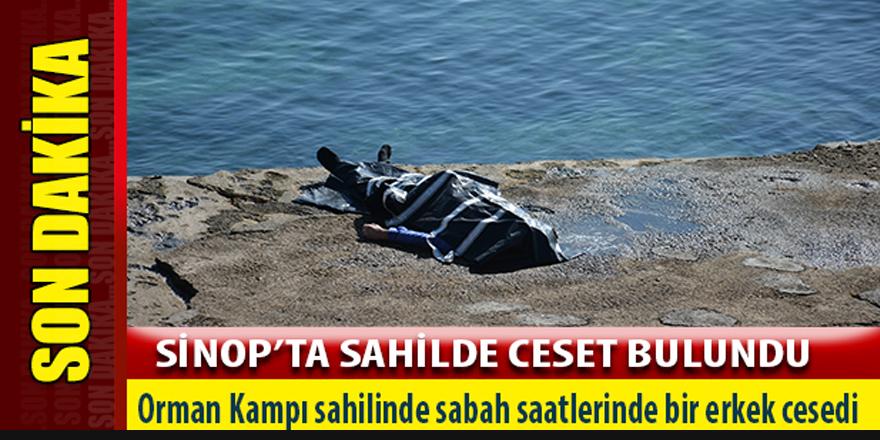 Sinop sahilinde ceset bulundu