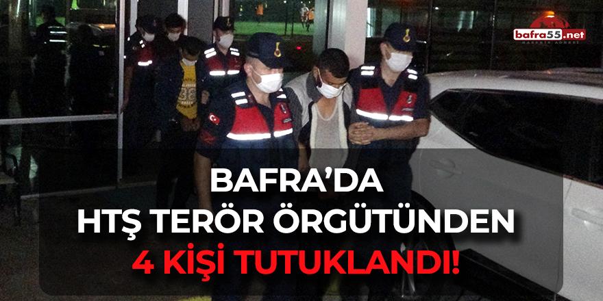 Bafra'da HTŞ Terör Örgütünden 4 kişi tutuklandı