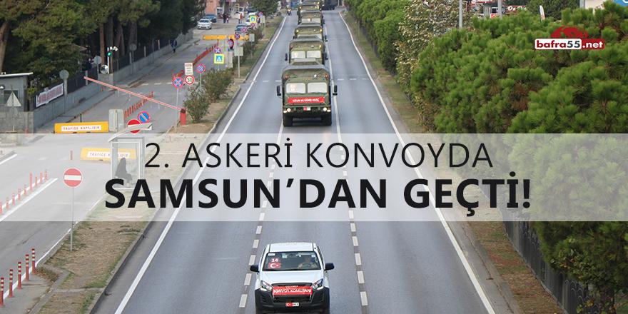 S-400 2. konvoyu da Samsun'dan geçti