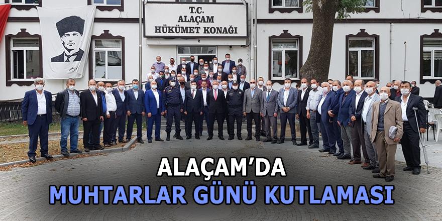Alaçam'da Muhtarlar Günü kutlaması