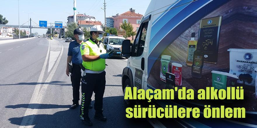 Alaçam'da alkollü sürücülere önlem