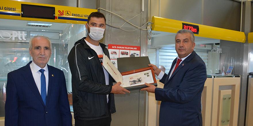 Sinop'ta, PTT'nin 180. kuruluş yıl dönümü kutlandı