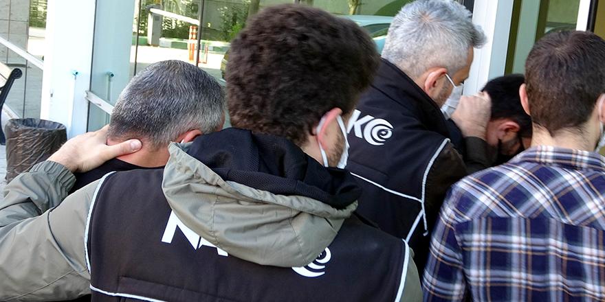 2 Kilo esrar ile yakalanan 2 kişi tutuklandı