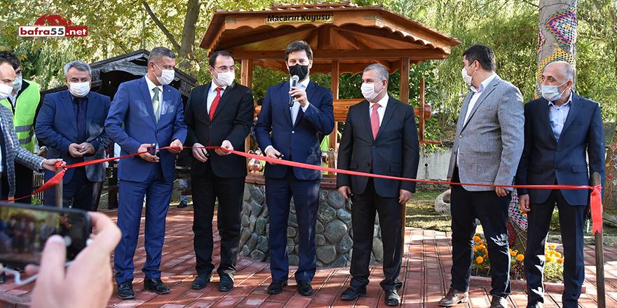 Boyabat'ta Macarın Kuyusu'nun açılışı gerçekleştirildi