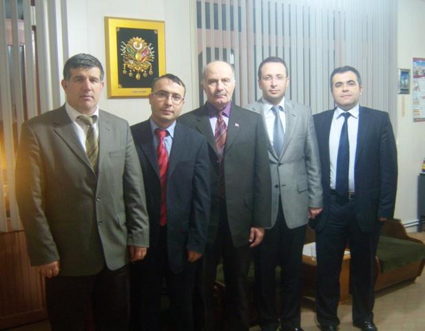 Bafra Ülkü Ocaklarından Halk Eğitim Müdürlüğüne Ziyaret