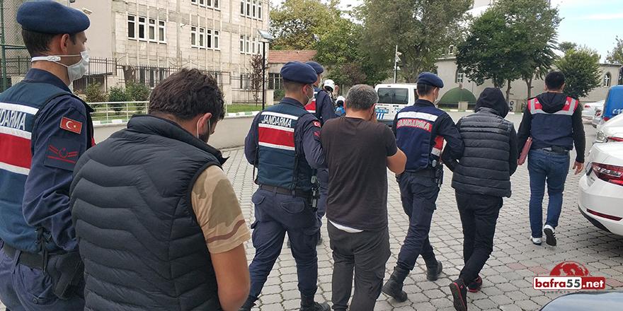 Esrarla yakalanan 3 kişi serbest bırakıldı