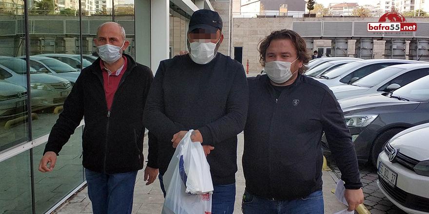 Samsun'daki uyuşturucu operasyonundan 2 kişi adliyede