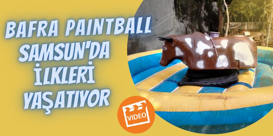 Bafra Paintball Samsun'da ilkleri yaşatıyor
