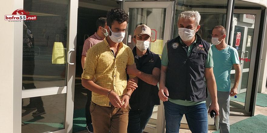 Samsun'da DEAŞ'tan yabancı uyruklu 1 kişi gözaltında