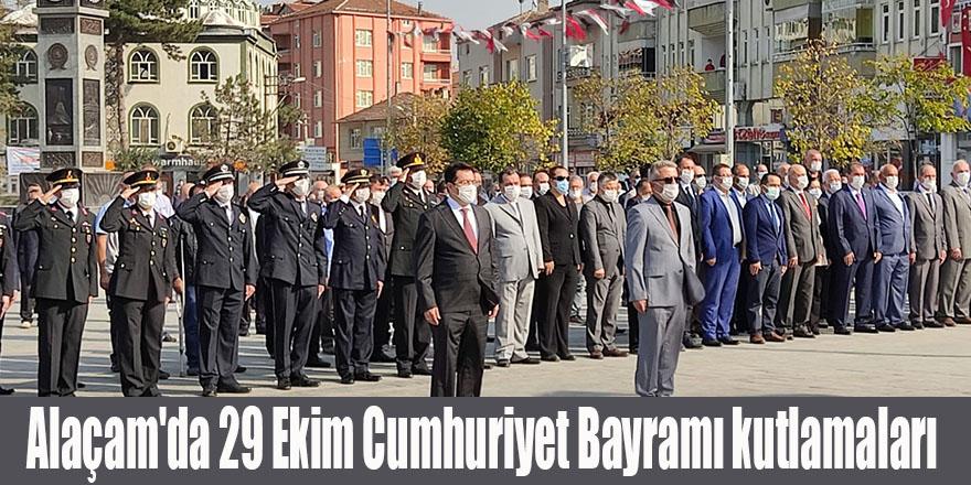 Alaçam'da 29 Ekim Cumhuriyet Bayramı kutlamaları