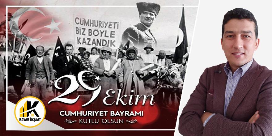 Ali Kavak'tan Cumhuriyet Bayramı kutlaması