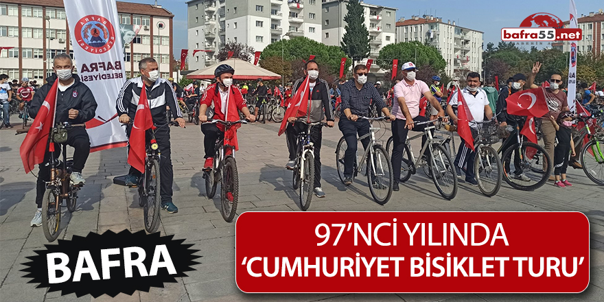 97'nci yılında 'Cumhuriyet Bisiklet Turu'