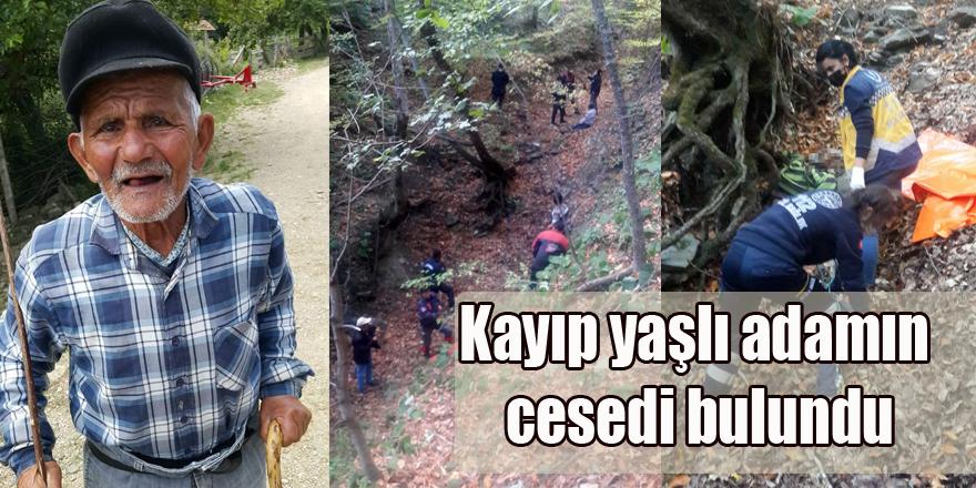 Sinop'ta Kayıp yaşlı adamın cesedi bulundu