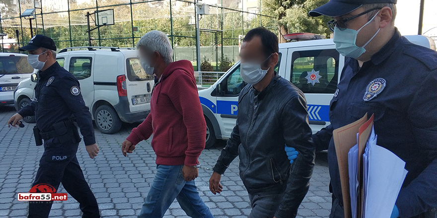 İnşaattan hırsızlık zanlısı 2 kişi yakalandı!