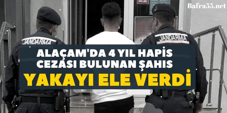 Alaçam'da 4 yıl Hapis Cezası Bulunan Şahıs Yakayı Ele Verdi
